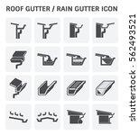 Rain Gutter With Fascia Shape...