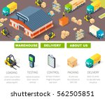 warehouse logistic and delivery ...   Shutterstock .eps vector #562505851