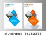 abstract flyer design... | Shutterstock .eps vector #562516585