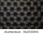 it is elegant black leather...