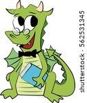 Vector Image Of Cartoon Green...