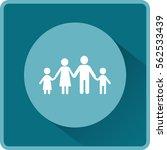 flat icon family. | Shutterstock .eps vector #562533439