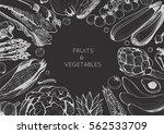 organic food design template....   Shutterstock .eps vector #562533709