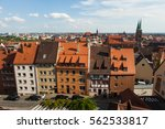 view of nuremberg from the... | Shutterstock . vector #562533817