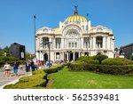 mexico city mexico   december...   Shutterstock . vector #562539481