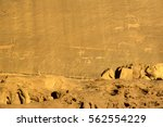 rock carvings on rocks in the