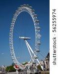 The London Eye Ferris Wheel On...