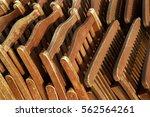 wood plastic metal outdoor deck ... | Shutterstock . vector #562564261