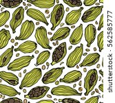 vector seamless pattern with...   Shutterstock .eps vector #562585777