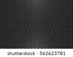 Abstract Steel Net   Decoratio...