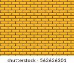 brick's wall seamless pattern.   Shutterstock .eps vector #562626301