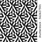 vector seamless pattern.... | Shutterstock .eps vector #562627501