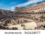 View Of The Inside Of Colosseu...