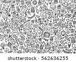 doodle  | Shutterstock . vector #562636255