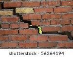 wall  brick  clay | Shutterstock . vector #56264194