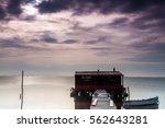 long exposure of magic sunrise... | Shutterstock . vector #562643281
