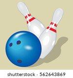 vector ball. realistic... | Shutterstock .eps vector #562643869