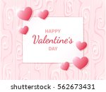 happy valentine's day. greeting ...   Shutterstock .eps vector #562673431