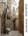 stone old city jaffa in tel aviv | Shutterstock . vector #562678525