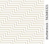 abstract geometric lines pattern | Shutterstock .eps vector #562681321