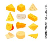 different kinds of cheese....