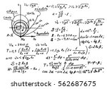 the law of centrifugal force of ... | Shutterstock .eps vector #562687675