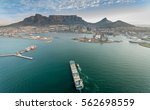 table mountain cape town south... | Shutterstock . vector #562698559