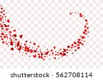 confetti cover. path from... | Shutterstock .eps vector #562708114