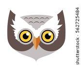 Owl Bird Carnival Mask Vector...