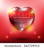 abstract vector banner. pebble... | Shutterstock .eps vector #562739515