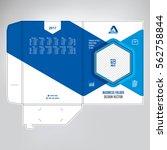 business folder  design cover... | Shutterstock .eps vector #562758844