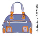 blue bag | Shutterstock . vector #56276320