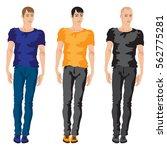 flat style vector illustration... | Shutterstock .eps vector #562775281