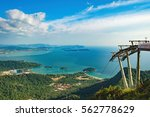 cable car to the top of... | Shutterstock . vector #562778629