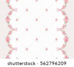 seamless pattern with garlands...   Shutterstock .eps vector #562796209