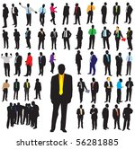 business man concept | Shutterstock .eps vector #56281885