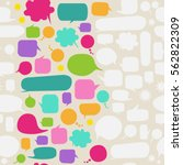 vector speech bubble background