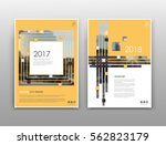abstract white  yellow  ... | Shutterstock .eps vector #562823179