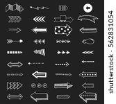 vector illustration of arrow...