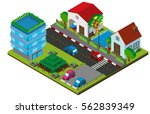 3d design for village with...