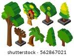 3d design for many types of... | Shutterstock .eps vector #562867021