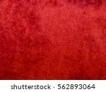 Texture Of Red Synthetic Fur