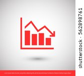 chart icon. one of set web icons   Shutterstock .eps vector #562898761