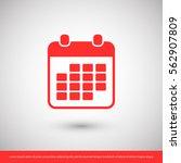 calendar icon. one of set web...