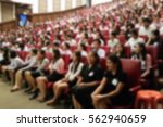 blurred image of people are... | Shutterstock . vector #562940659