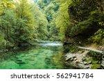 mountain river | Shutterstock . vector #562941784
