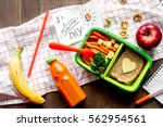 Green Lunch Box For Kid On...