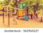 abstract blur image of children'... | Shutterstock . vector #562964227