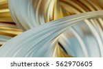 gold satin background. gold... | Shutterstock . vector #562970605