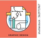 graphic design vector icon | Shutterstock .eps vector #562971967